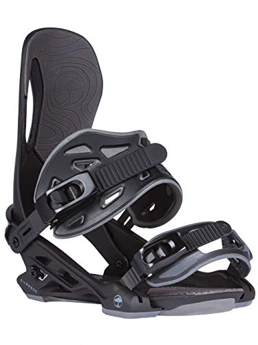 Arbor Cypress Snowboard Binding 2018 - Men's Black Large/X-Large ()