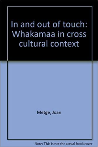 Téléchargement gratuit d'ebooks facilesIn and out of touch: Whakamaa in cross cultural context by Joan Metge (French Edition) CHM