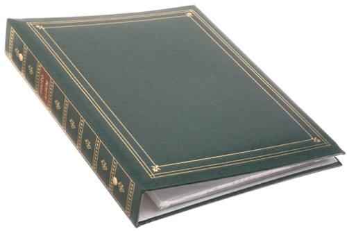 Pioneer Photo Albums Pioneer APS 3-Ring Bi-Directional Le Memo Album Hunter Green APS-247//HG PIAPS247HG