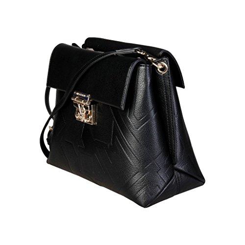 Jeans E1VQBBZ2_75473 Crossbody Umhängetasche für Damen Leder Grau Versace 21jWtwwh