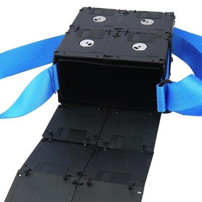 Floppy Bag Floppy Schultertasche 3,5 Pollici Piccolo Nero