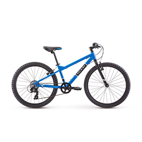 Raleigh Bikes Rowdy 24 Kids Mountain Bike for Boys Youth 9-12 Years Old