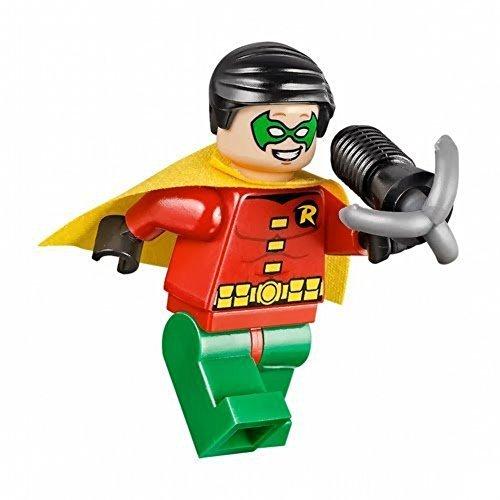 LEGO DC Comics Super Heroes Batman Robin with Grapple Gun (Robin Lego Figure)