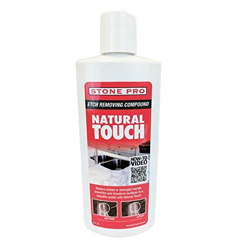 Stone Pro Natural Touch - Etch Removing Compound - 8 oz.