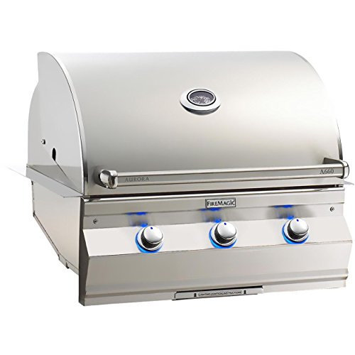 60i Built-In Gas Grill with Analog Thermometer (without Rotisserie Backburner) - Propane ()