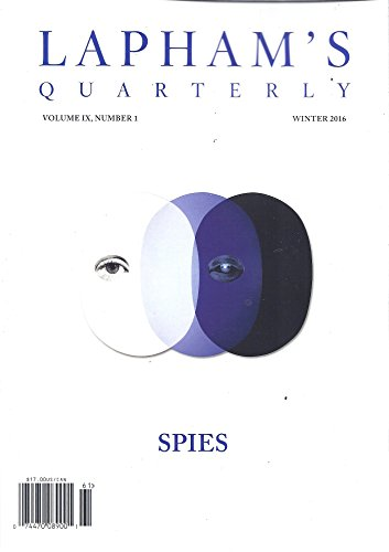 Lapham's Quarterly (Winter 2016)
