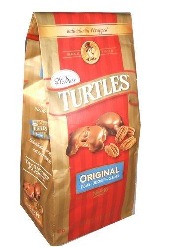 Demet's Turtles Original, Pecans~Chocolate~Caramel, 17.5-Ounce (pack of 2) by DeMet's