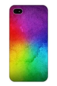 meilinF000Christmas Gift - Tpu Case Cover For iphone 5/5s Strong Protect Case - Rainbow DesignmeilinF000