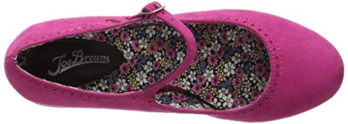 Vintage A Browns pink In Pink Para Rosa Shoes Joe Mujer The Merceditas qAg6wqIR