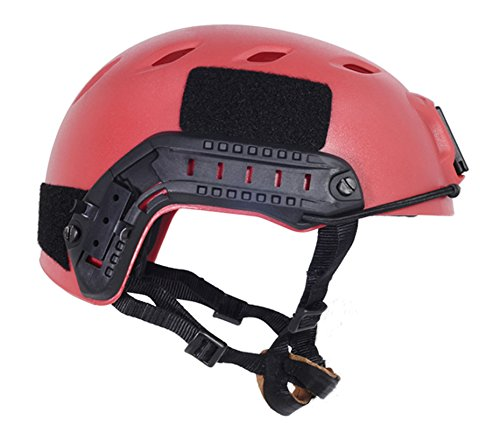 Brand New FMA Airsoft Paintball Protective Base Jump Helmet PROP RED L/XL L285 by FMA