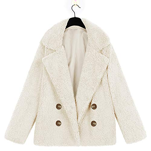 Amazon.com: Women Winter Warm Soft Fur Teddy Coat Jacket ...