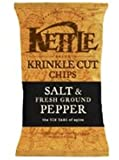 kettle chips pep - KETTLE FOODS CHIP PTO SALT GRND PPPR, 8.5 OZ