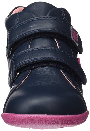 Agatha Ruiz de la Prada 161921, Zapatillas Altas para Niñas Azul Marino (Sauvage)