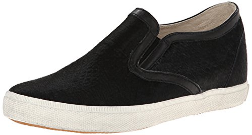 Womens Kim Slip Ons (KIM&ZOZI Women's Pony Slipon, Black, 9 M US)