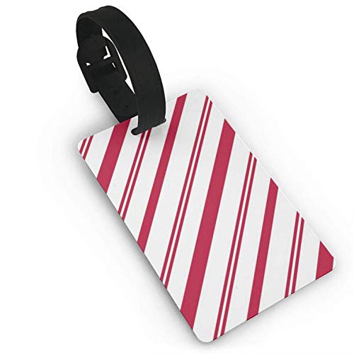 Luggage Tags Travel Luggage Tags Luggage Bag Tags Candy Cane Labels Baggage Suitcases Name Privacy