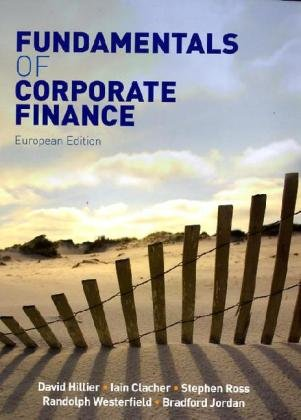 Fundamentals of corporate finance amazon david hillier iain fundamentals of corporate finance amazon david hillier iain clacher 9780077131364 books fandeluxe Gallery