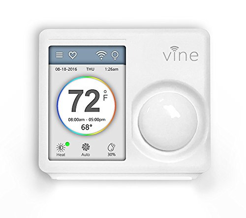 Smart Thermostat Programmable Touchscreen Nightlight product image