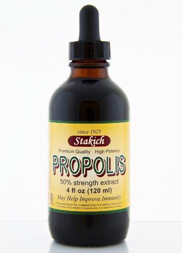 Stakich PROPOLIS 4 oz Liquid Extract, 50% - Top Quality