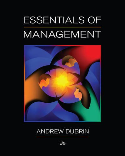 Essentials of Management, 9th Edition