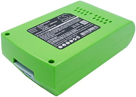 Cameron-Sino Replacement Battery for GreenWorks Power Tools 10-Inch Cordless Chainsaw 2036, 130MPH Cordless G24 Sweeper, 20-Inch Cordless Pole Hedge Tr, 22-Inch Cordless Hedge Trimmer, 24352, G24, G-2