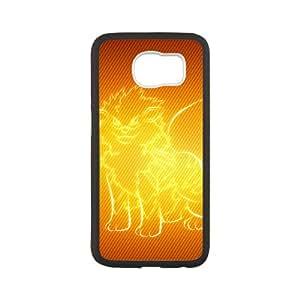 Custom Pokemon Desgin Carton TPU Case Cover Unique Durable Hard Plastic Case Cover for Samsung Galaxy S6
