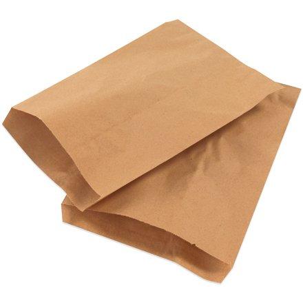 Box King BGM104K Flat Merchandise Bags, 13'' Length, 10'' Width, Kraft