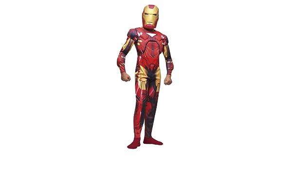 César - Disfraz de Iron Man con armadura y casco para niño (de 3/5 ...
