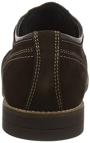 camel active San Jose 11 - zapatos con cordones de cuero hombre marrón - marrón (moca)