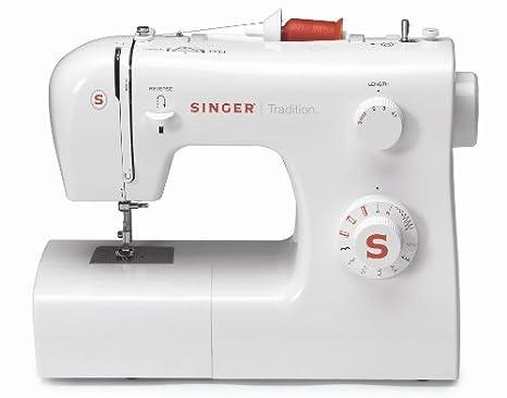 SINGER Tradition 2250 - Máquina de coser (Color blanco, Costura, Paso 4,