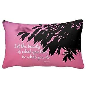 refiring Pink Pattern–Funda de almohada de bocetos inicial, funda de almohada