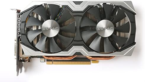 Zotac ZT-P10600B-10M NVIDIA GeForce GTX 1060 6GB - Tarjeta gráfica (Activo, NVIDIA, GeForce GTX 1060, GDDR5, PCI Express x16 3.0, 2.0b)