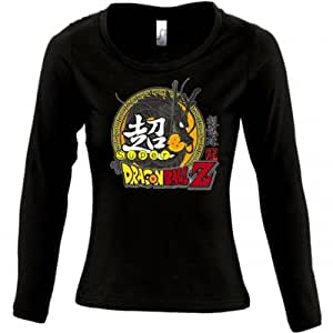 Camiseta Super Dragon Ball Z de chica manga larga (Talla: TALLA-XL)