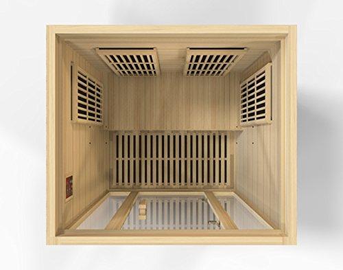 Maxxus Saunas MX-J206-01 Seattle Carbon Far Infrared Sauna