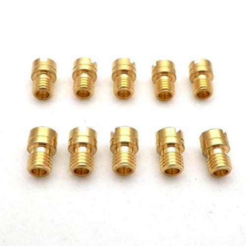 - YunShuo 10X Small Round Main Jet 6mm Dead w/ 5mm Thread for Mikuni SBN Carb 80-102 80 82 85 88 90 92 95 98 100 102