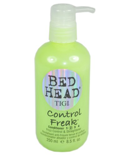 TIGI Bed Head Control Freak Conditioner, Frizz Control and Straightener, 8.45 Ounce (Pack of 2) (Bed Head Control Freak Frizz Control Straightener)