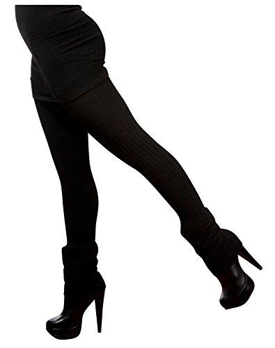 8e3ce2c15e4ae New York Black Sexy Pro Dancer Thigh High 28 Inch Leg Warmers by KD dance  Stretch