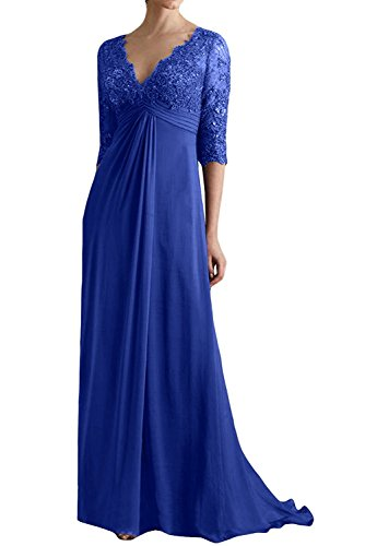 Gruen Kleider Spitze Abendkleider Brautmutter Mit Jugendweihe Marie Langes Ausschnitt Royal V Damen Blau Braut Kleider La wFqBgP