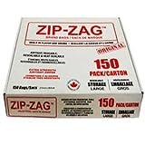 Zip Zag Original Large Bags (150 Pieces)