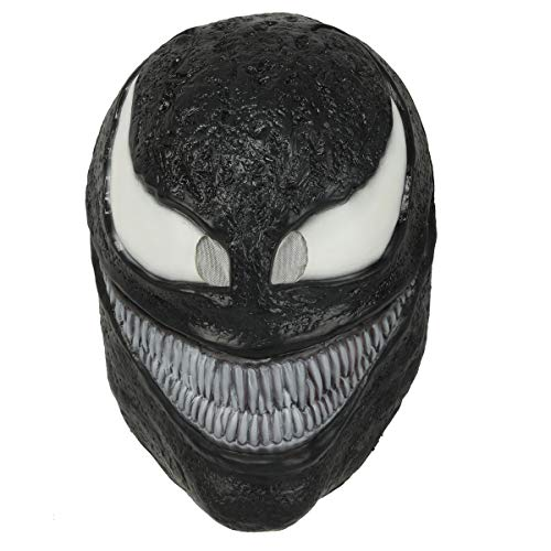 Mens Deluxe Venom Mask Halloween Cosplay Costume Props Accessory (mask) -