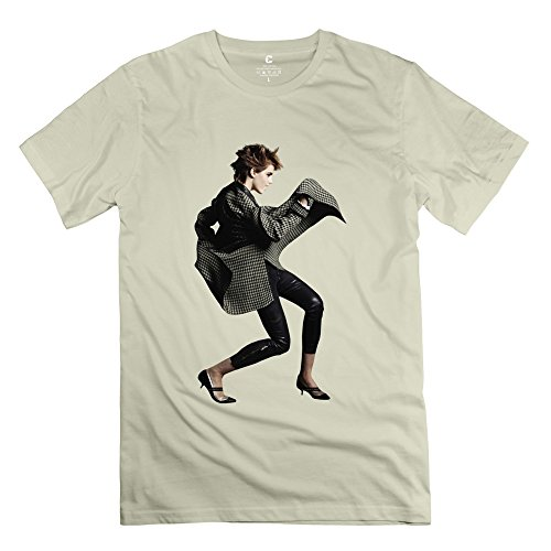 Fire-Dog Men's Harry Potter Emma Watson Dance T-shirt Size XS Natural