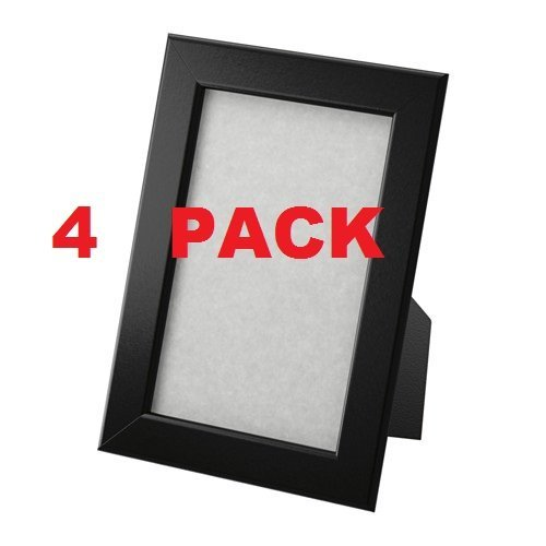 27x40 Black Poster Frame W Plexi Glass And Hardboard