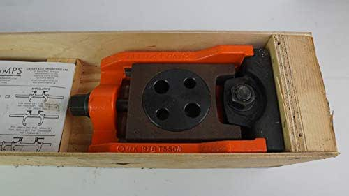Carver C301154 Machine Vice Heavy Duty Moving Abutment T550-1; Destaco Reference: T550-1 C301154