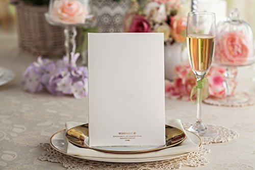 100x Wishmade CW065 Colorful Flower Wedding Invitations Cards DHL shipping by wishmade (Image #4)