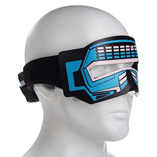 Mask With Led Eyes - 8
