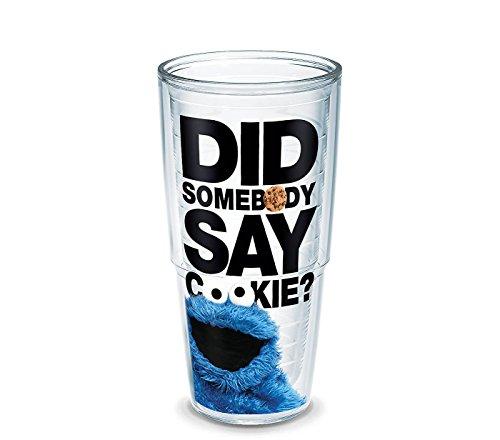 Tervis Hello Sesame Street Did Somebody Say Cookie 24 oz Tumbler]()