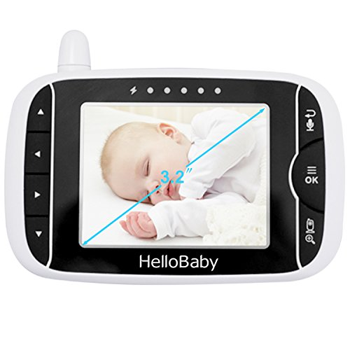 HelloBaby Video Baby Monitor Parent Handheld Unit Without Camera, HB32RX by HelloBaby