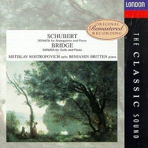UPC 028944357523, Schubert: Sonata for Arpeggione and Piano / Bridge: Sonata for Cello and Piano