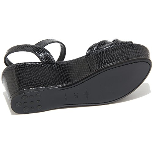 Car Zeppa Woman Nero Sandalo 7954i Donna Sandals Shoe Black UWWHnqr4