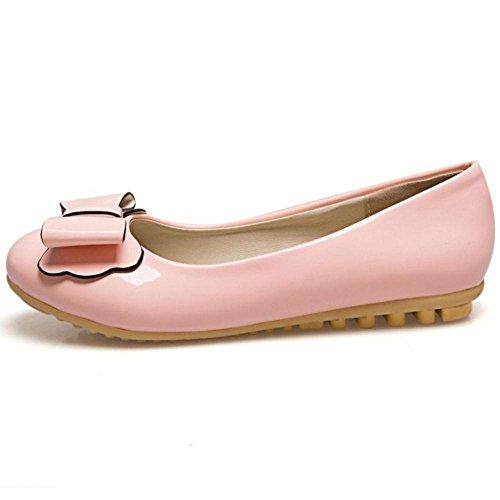 JOJONUNU Pink Femmes Escarpins a Enfiler UUzfZqw