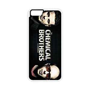 Chemical-Brothers iPhone 6 Plus 5.5 Inch Cell Phone Case White Zrkqy
